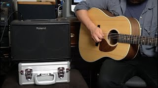 Roland AC60 Acoustic Amp : Feature Packed, Gig Ready