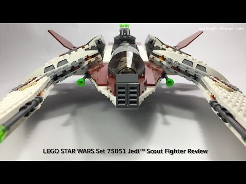 LEGO STAR WARS Set 75051 Jedi™ Scout Fighter Review