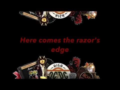 The Razor's Edge - AC/DC (with lyrics)