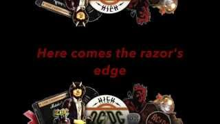 The Razor's Edge, song released by AC/DC in 1990. I do not own this...