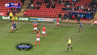 Charlton Athletic vs Doncaster Rovers - Championship 2013/14 Highlights