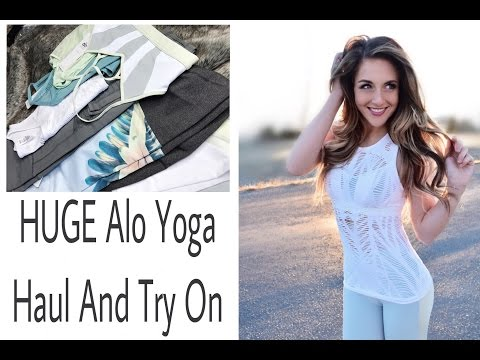 Alo Yoga Try On and Review || HopeScope