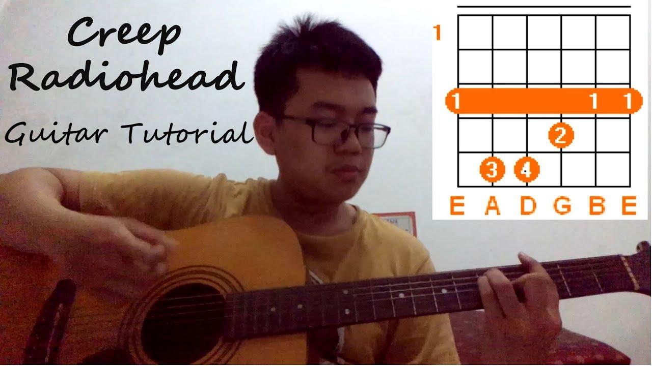 Radiohead Creep Easy Guitar Lesson Tutorial Chords How To Play