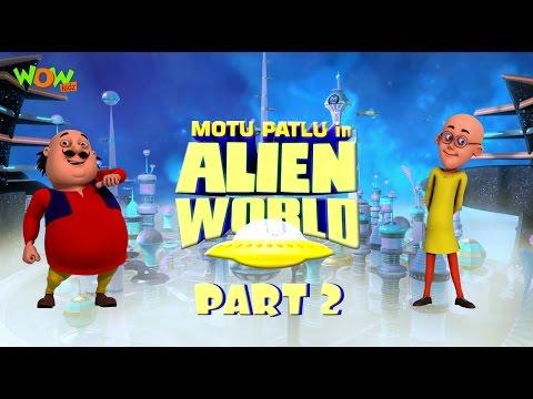 Motu Patlu in Alien World -Movie -Part 02  Movie Mania - 1 Movie Everyday   Wowkidz thumbnail