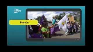 Noticias 3 Plantón a favor del aborto terapéutico