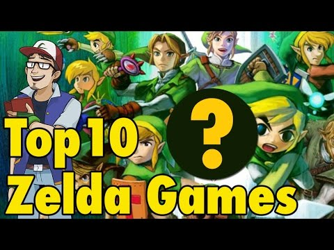 Top 10 Zelda Games