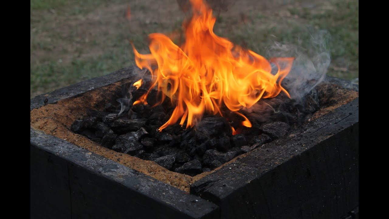 charcoal forge. charcoal forge