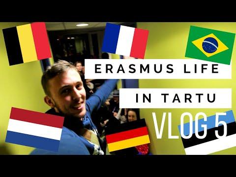 VLOG 5: ERASMUS LIFE IN TARTU