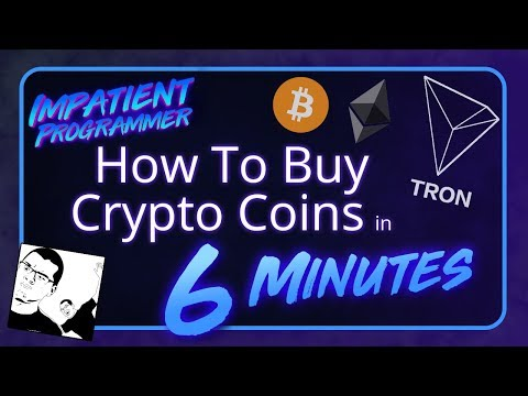 How to Buy Crypto Coins in 6 minutes!
