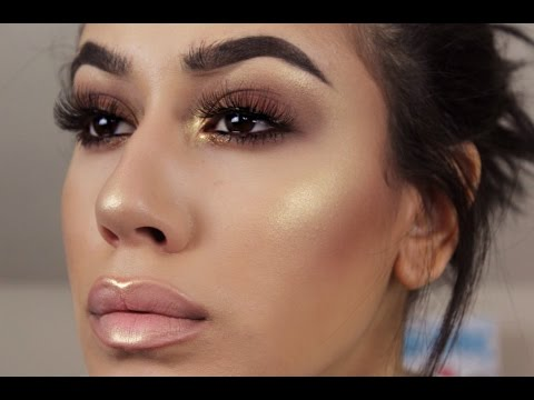 Smoky Eyes with GORGEOUS Glowing Skin | Try On Haul