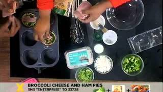 Enterprise:  Broccoli Cheese And Ham Pies(22.08.2012)