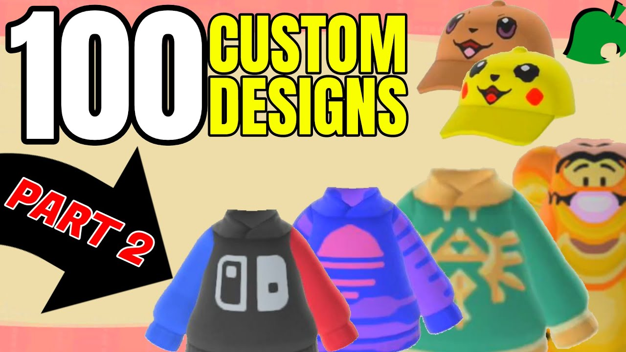 100 New Custom Design Codes (Part 2) | Animal Crossing New ...