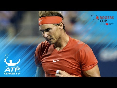 Nadal sets up final against Tsitsipas   Rogers Cup 2018 Highlights Day 6