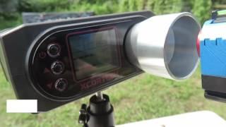 AW Benutzerdefinierte Triade Tightbore 6.01 mm Inner Barrels Chronograph Test