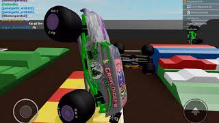 Monster Jam Roblox Grave Digger Encore