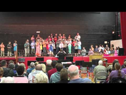 Rossville Alvin Elementary School Spring Concert: Third, Fourth and Fifth grade