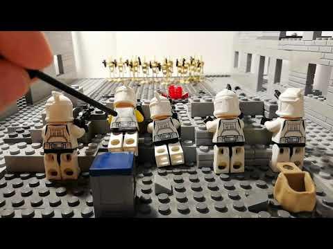 Лего самоделка #40 бой в городе