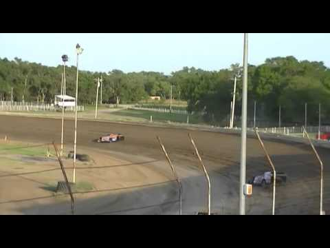 JTR Heat Race Belleville High Banks 7-5-2015