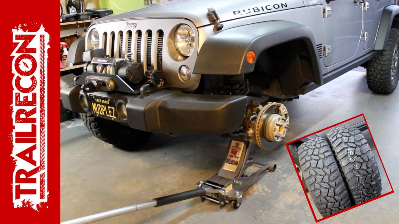 How to do a 5 Tire Rotation on a Jeep - Cooper STT Pro Tire  Tire Rotation Diagram on