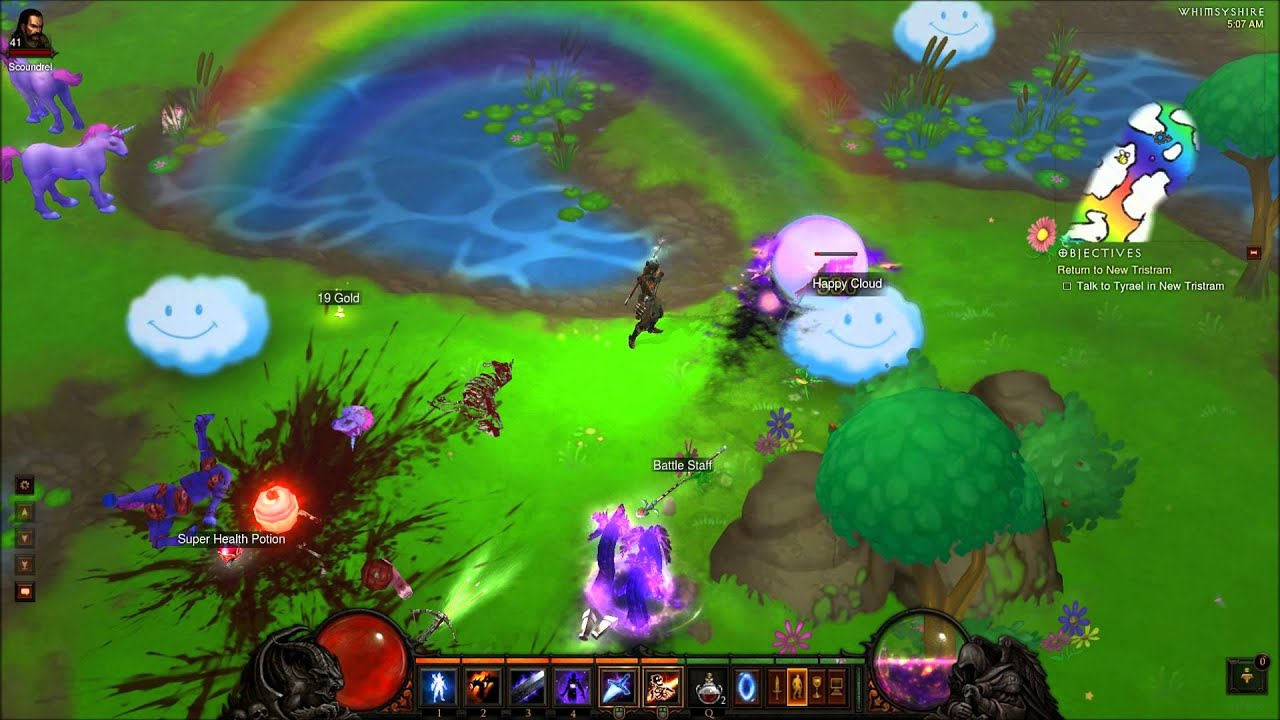 Diablo 3 Secret Items - Year of Clean Water