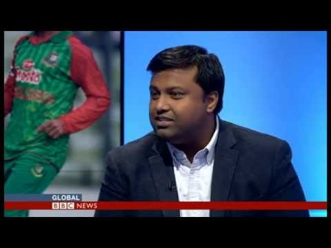 Mahfuz Sadique on BBC World TV: Bangladesh series win over Pakistan