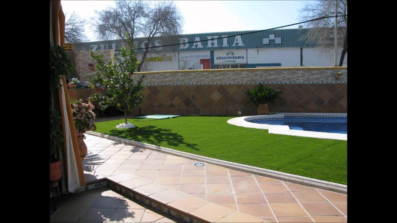 Cesped artificial para piscina el jardinero sl jerez de for Piscina jerez de la frontera