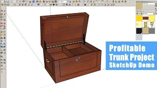 Woodworking Income Project - Sketchup Demo
