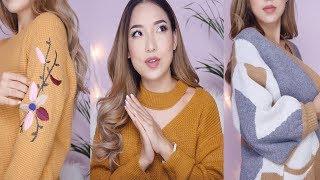 Cozy Winter Weather Fashion Haul | Try On Haul Ft. Zaful