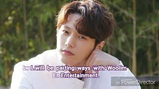 INFINITE's L Announces Departure From Woollim Entertainment