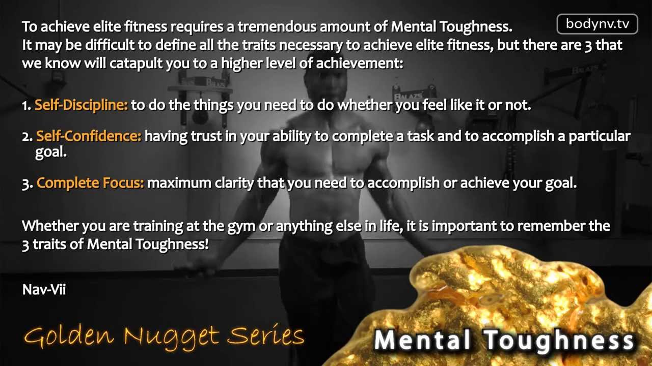 Mental Toughness - Motivational Quotes - Fitness Advice - Golden ...