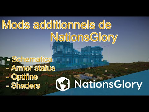 TutoGlory : Les mods additionnels de NationsGlory (Optifine, Schematica, Shader)