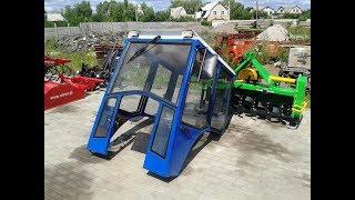 Купить Кабина для минитрактора, трактора Донгфенг-244 (Dongfeng-244) minitrak.com.ua