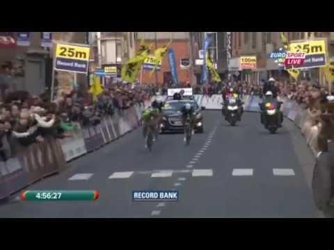 E3 Harelbeke 2014 - Peter Sagan - finish