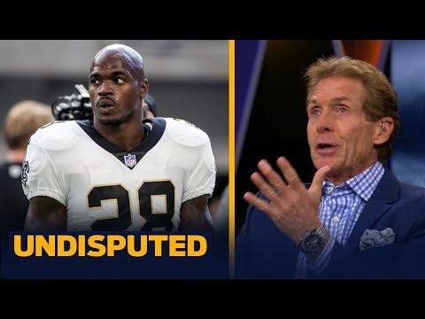 Skip on Adrian Peterson: 'I was so disappointed and so disgusted with Sean Payton   UNDISPUTED