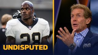 Skip on Adrian Peterson: 'I was so disappointed and so disgusted with Sean Payton | UNDISPUTED
