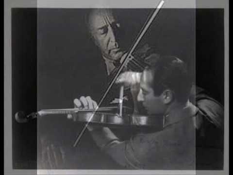 Bronislaw Gimpel plays Chaikovsky Concerto 1st mov.