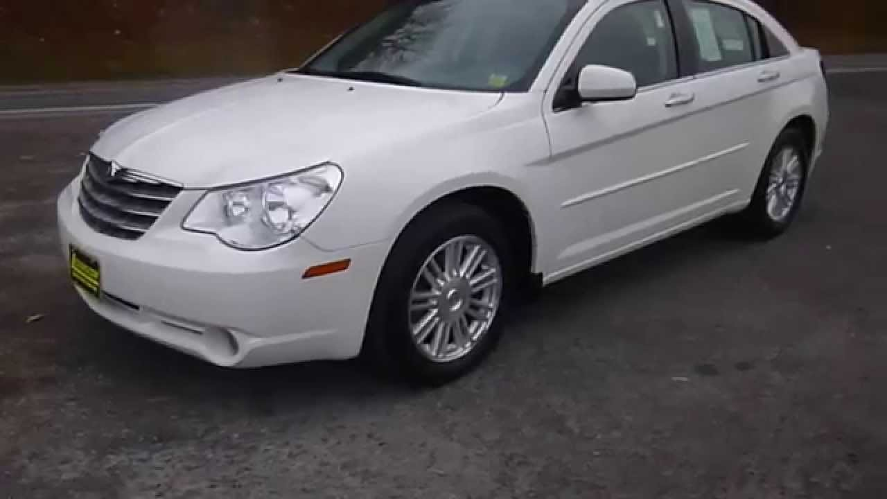 2007 Chrysler Sebring Limited Sedan Youtube