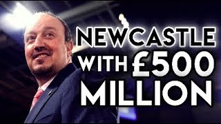 Newcastle United With £500 MILLION - Three year Football Manager 2018 Experiment