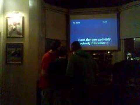 Karaoke in the links