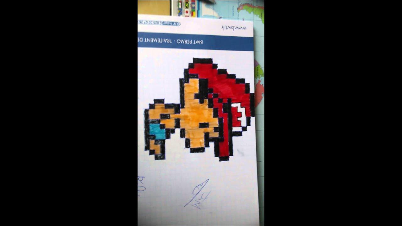 Pixel Art Bebe Mario Youtube