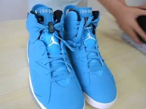 size 40 11a58 8b4c7 AIR JORDAN 6 RETRO NORTH-CAROLINA-BLUE from boutiqueneaker.com - free  shipping by dhl