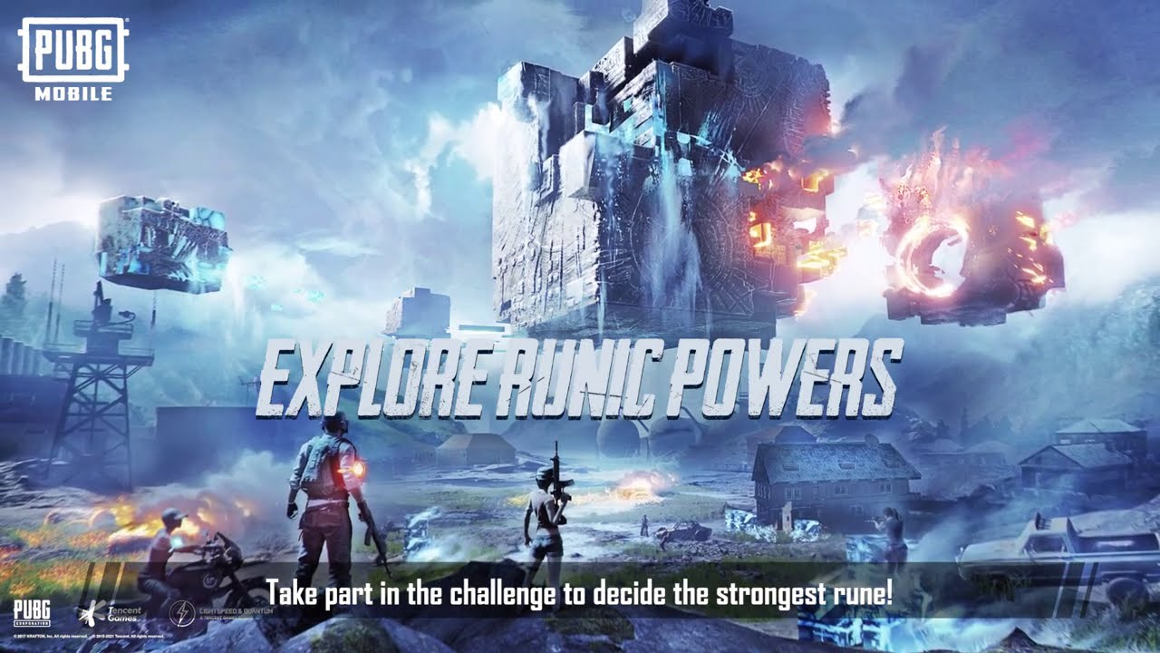 PUBG MOBILE - Runic Power Mode Guide - YouTube