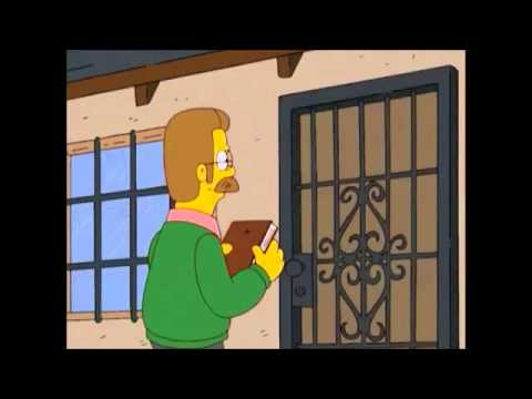 Homer Simpson The Bounty Hunter - FUNNY