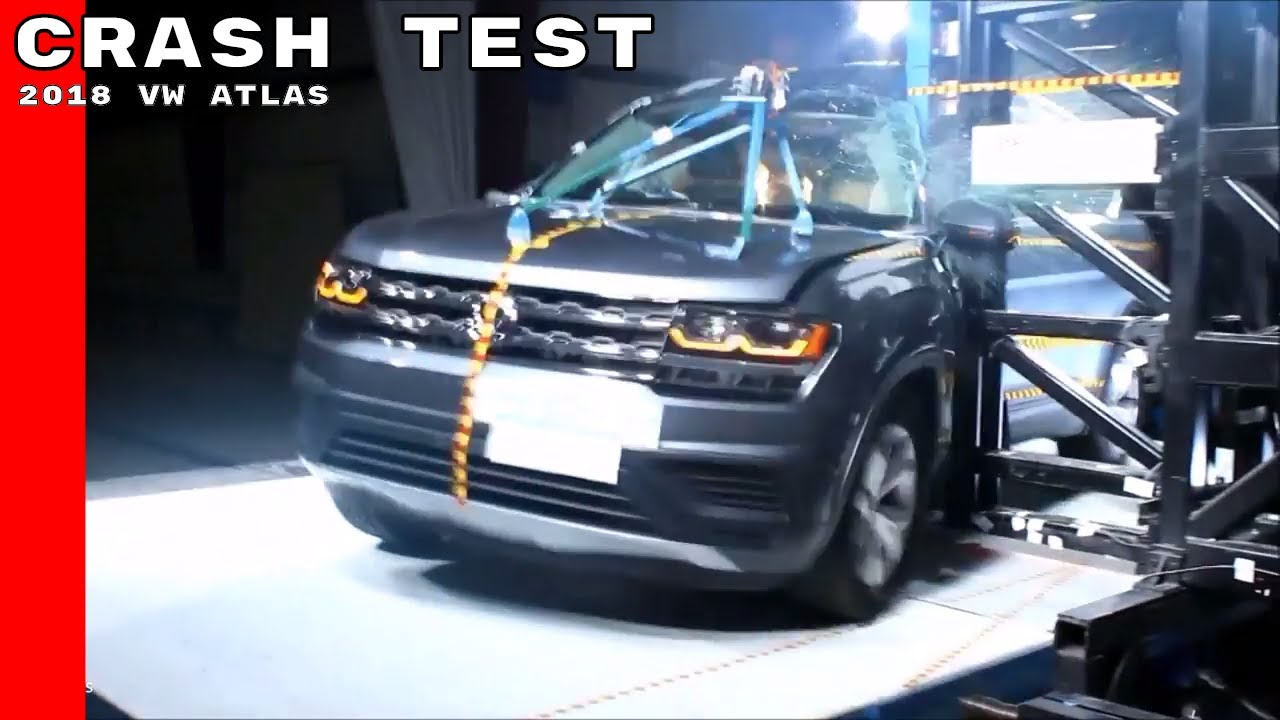 2018 VW Atlas Crash Test