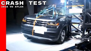 2018 VW Atlas Crash Test