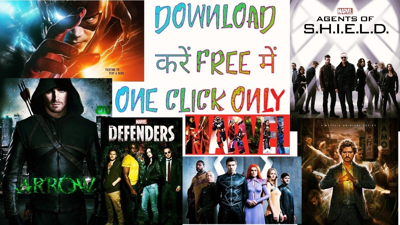 Download The Flash,Iron fist and Arrow और भी MCU, DCEU TV series free में Download करें.