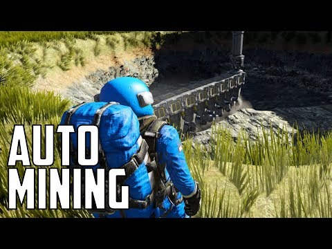 Space Engineers - S1E16 'Automatic Mining Rig'