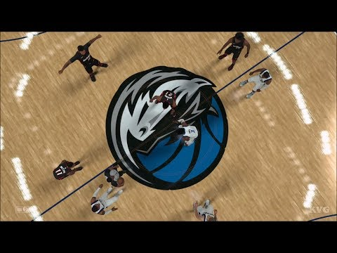 NBA 2K18 - Dallas Mavericks vs Miami Heat - Gameplay (PS4 HD) [1080p60FPS]