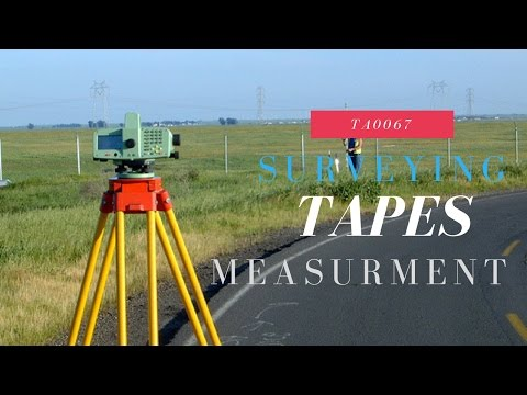 All about measuring tapes in surveying-TA0067