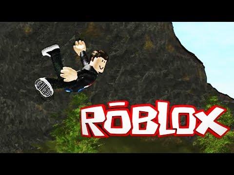 РАЗБЕЖАВШИСЬ ПРЫГНУ со СКАЛЫЫЫЫ Симулятор падений в ROBLOX от Мобика